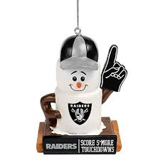 oakland raiders tree ornaments