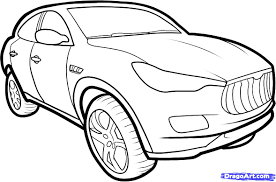 cartoon jeep drawings how to draw a maserati kubang maserati kubang step by step suvs