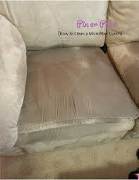 how to clean a sofa pin or pass how to clean a microfiber couch