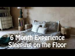 japanese futon 6 month review youtube