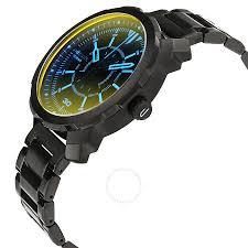 diesel machinus black dial men u0027s quartz watch dz1737 diesel