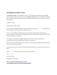 work experience certificate template microsoft word templates