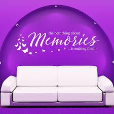wandtattoo memories erinnerungen the best thing about spruch
