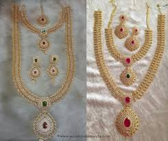 gold set for marriage wedding jewellery contemporary jewelry collection ideas
