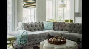Sectional Gray Sofa Gray Velvet Sectional Sofa For Living Room