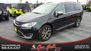 mac haik dodge chrysler jeep ram houston tx 2017 chrysler pacifica limited passenger in houston c7703
