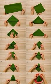 best 25 christmas tree napkin fold ideas on pinterest christmas