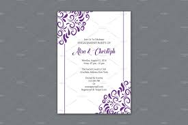 engagement party invitation template invitation templates