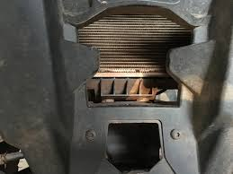 outlander l 570 radiator mud trap can am atv forum