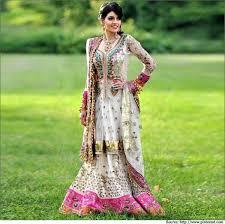 Muslim Engagement Dresses Beautiful Indian Brides With Bridal Wear Sarees Dresses