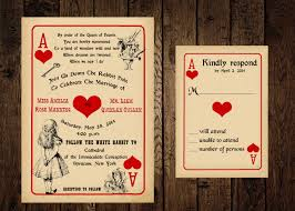 alice in wonderland template playing card invitation template festival tech com
