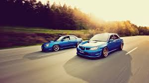subaru stance car subaru subaru impreza stance blue cars wallpapers hd