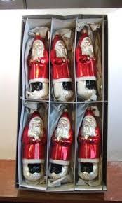 old world christmas inge glass ornaments heralding christmas set