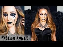Fallen Angel Halloween Costumes Halloween Makeup Tutorial Fallen Angel