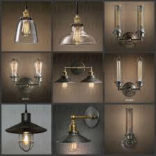 Vintage Pendant Light Fixtures Industrial Vintage Pendant L Creative Retro Edison Bulb Hanging