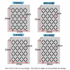quatrefoil trellis pattern stencil ideal stencils