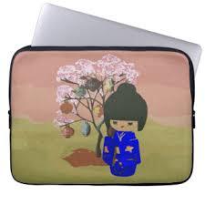 cherry blossom tree laptop sleeves cases zazzle