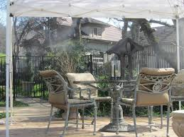 Diy Patio Mister by Low Pressure Recreational Misting Tents