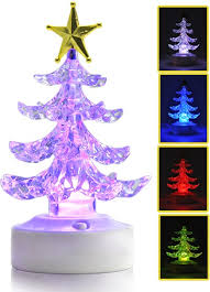 Color Changing Christmas Trees - usb color changing led christmas tree speaker