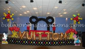 kid u0027s birthday party mickey mouse themed party decoration