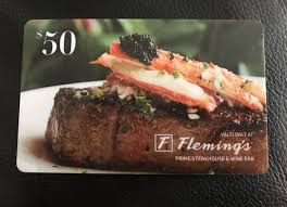 flemings gift card 50 fleming s gift card clothing shoes in mesa az