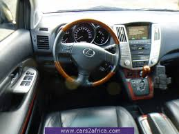 lexus rx 300 years made cars2africa