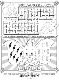 dumbo movie at target black friday printable dumbo maze printables for kids u2013 free word search