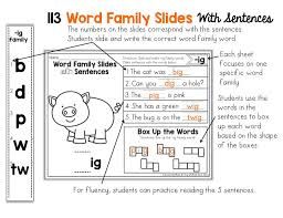how to effectively teach 113 different word families