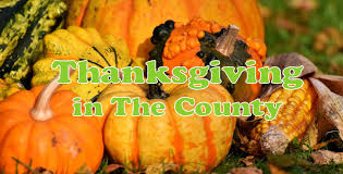 thanksgiving weekend activities in the county prince edward