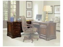 Distressed Computer Desk Hooker Furniture Brookhaven Distressed Medium Cherry 68 U0027 U0027l X 79 U0027 U0027w