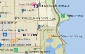 Hyde Park Chicago Map by Teska Associates Inc Chicago Neighborhoods 2015