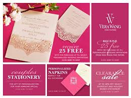 Vera Wang Wedding Invitations William Arthur And Vera Wang Invitation Sale Maureen H Hall