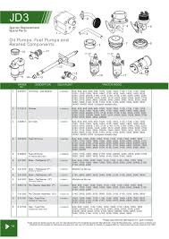 john deere engine replacement parts page 48 sparex parts lists