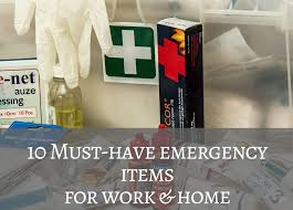 must have home items 10 must have emergency items for work and home connect consulting