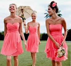 bridesmaid dresses coral coral bridesmaid dresses the coral