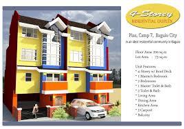 Duplex Building 4 Storey Duplex House In Baguio City Baguio Benguet Real Estate