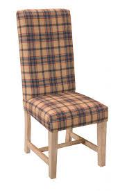 Tartan Armchairs Tartan High Back Fabric Dining Chair Asb358 149 95 Fine Chairs