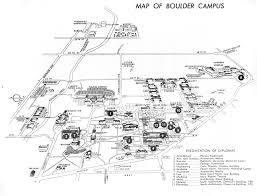 Cu Boulder Campus Map Cu Boulder Campus Map 1963 The Campus Had A Lot Fewer Buil U2026 Flickr
