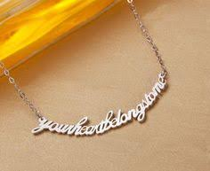 custom made name necklaces pin by ras on necklace