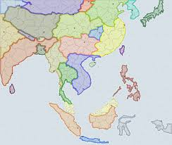 Blank East Asia Map by South East Asia Supremacy1914 Wiki Fandom Powered By Wikia