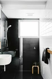 Small Black And White Bathroom Ideas Black And White Bathroom Tiles In A Small Bathroom Apinfectologia
