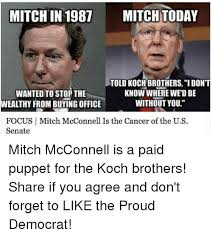 Mitch Mcconnell Meme - 25 best memes about mitch mcconnell mitch mcconnell memes