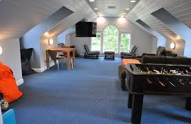 Games For Basement Rec Room by How To Transform Your Attic Into A Fun Game Room