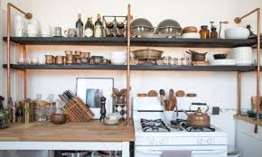Pipe Shelves Kitchen by Pantry Shelves Pipe Custom Shelving And Industrial Chic Furniture