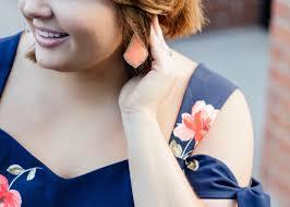 Dress Barn Earrings In The Style Lane Flirty In Floral