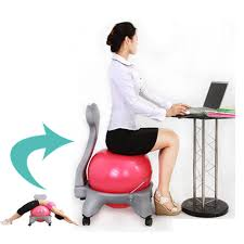 Yoga Ball Desk Chair by What Size Yoga Ball For Desk Chair Green Desk Chair Yoga Ball
