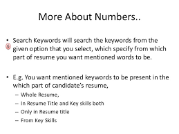 Keywords In Resume Download Resume From Times Job