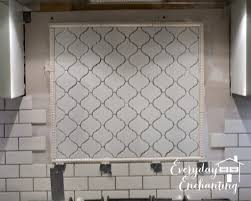 interior arabesque tile porcelain lantern moroccan backsplash
