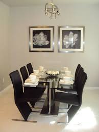 black and silver dining room set of goodly k d furniture black