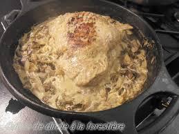 cuisiner une cuisse de dinde en cocotte cuisse de dinde a la forestiere recettes voyageuses de barbara